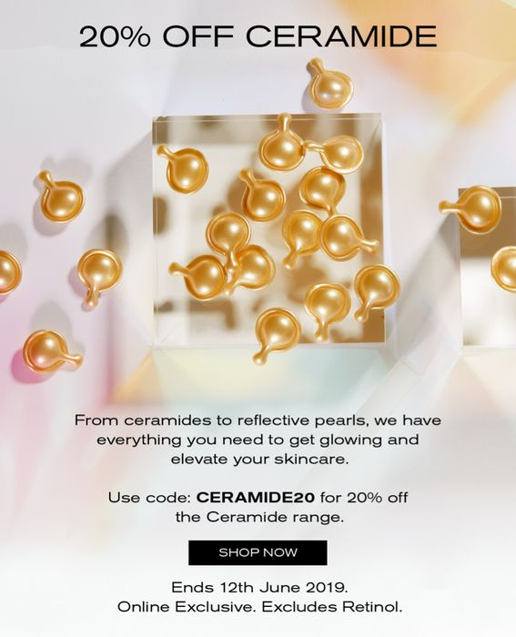 20% off Ceramide Collection