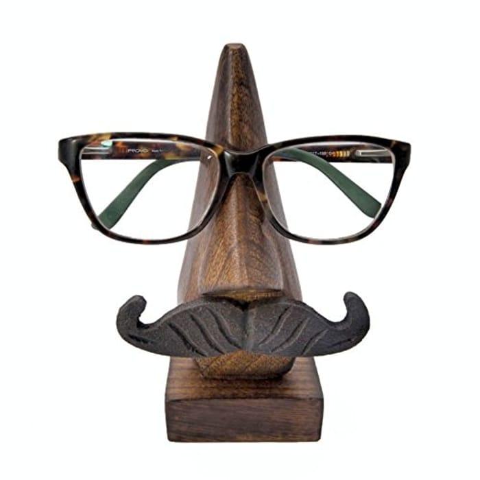 Handmade Wooden Glasses Holder