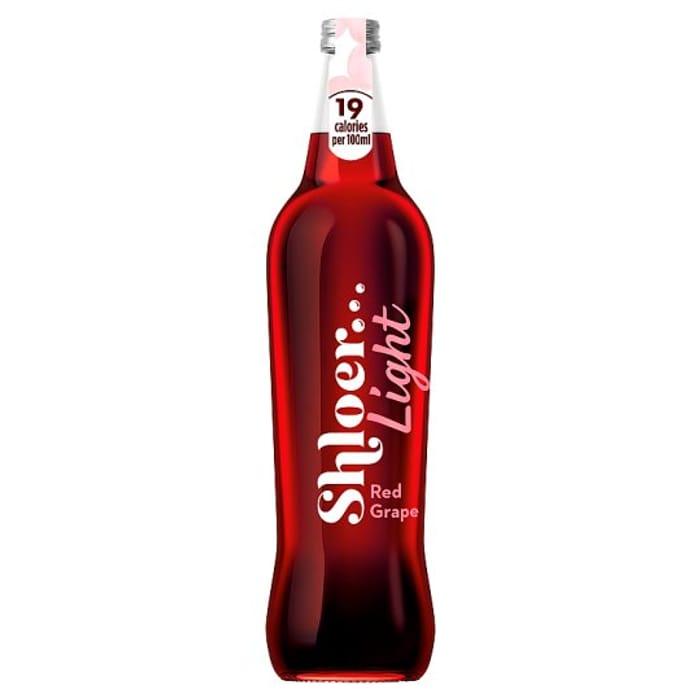 Shloer Light Red Grape 750Ml