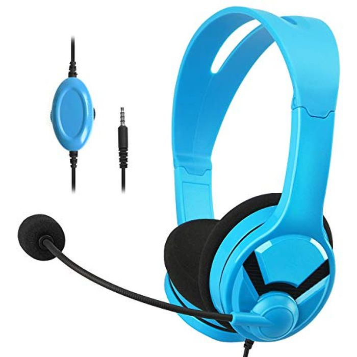 AmazonBasics Gaming Headset - Compatible with Nintendo Switch, X1, PS 4 & PC