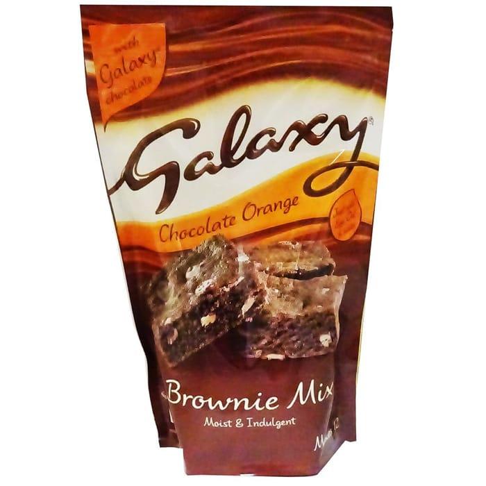 Galaxy Chocolate Orange Brownie Mix 360g