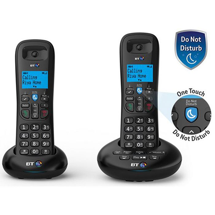 BT3570 Nuisance Call Blocker Landline Telephone Twin Pack