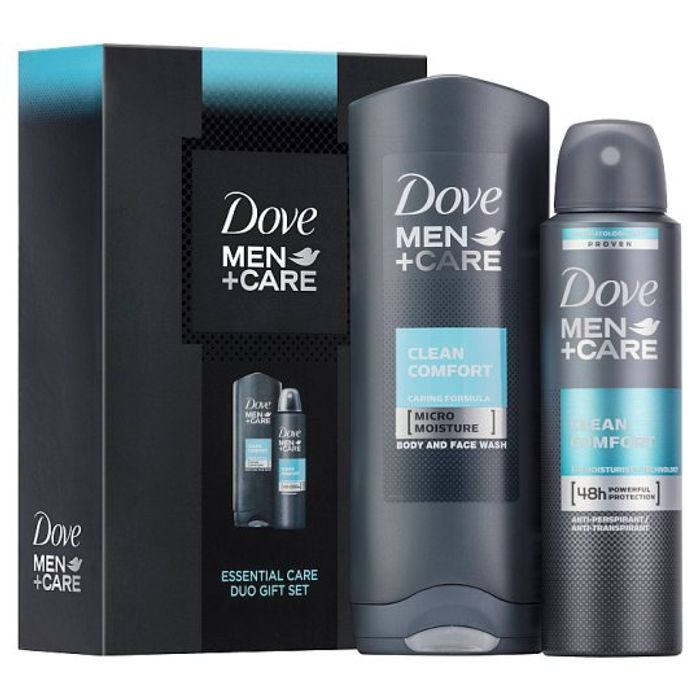 Dove Men plus Care Clean Comfort Duo Fathers Day Gift Set