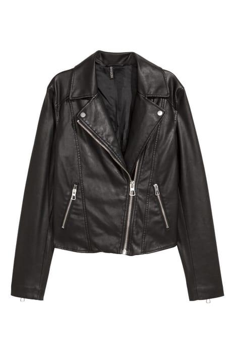 Women's Black Biker Jacket - SAVE £9.99