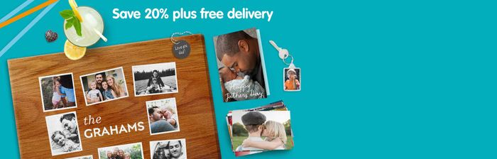 """Free 25 6x4"""" Photos. plus Free Delivery with Code"""