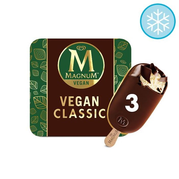 £1 off Vegan Classic or Almond Magnum at Tesco Online Groceries