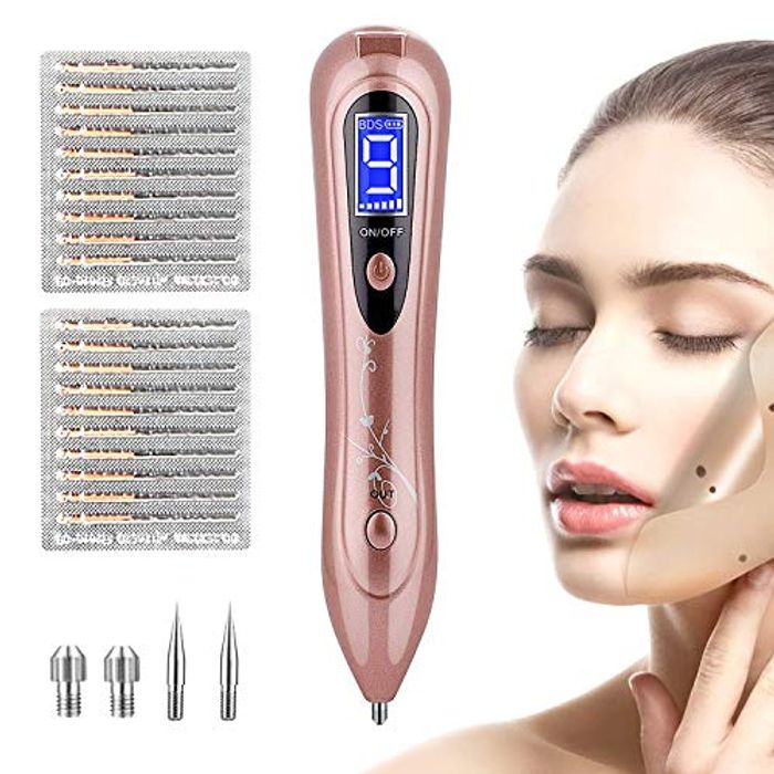 Skin Tags Remover, Mole Removal Pen with 9 Adjustable Modes
