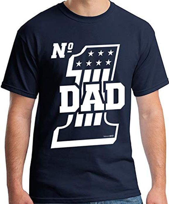 Dad Gifts Number 1 Dad T-Shirt