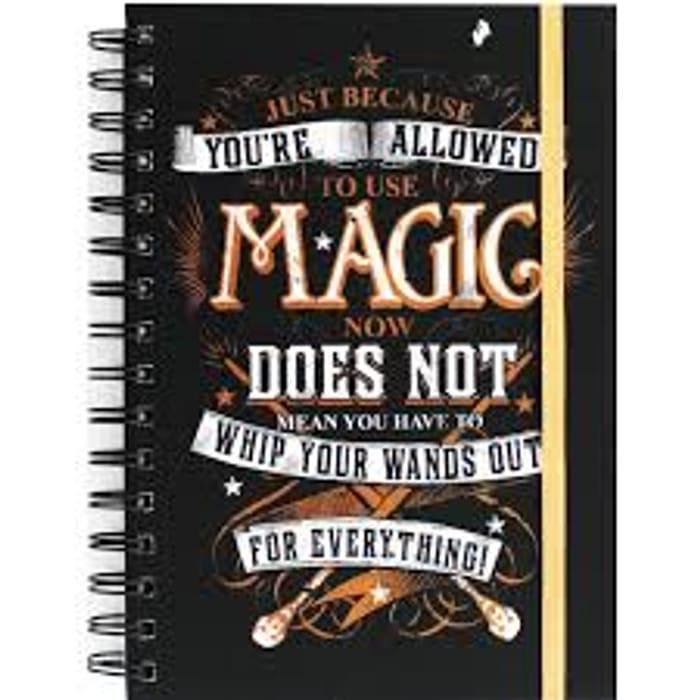 A5 Harry Potter Magic Notebook