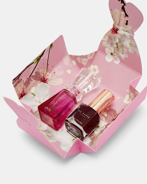 POLLYNA Polly Perfume and Nail Polish Set save £3