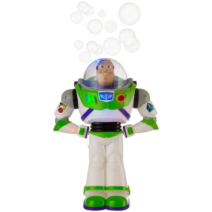 Toy Story Buzz Lightyear Bubble Blower - Save £2