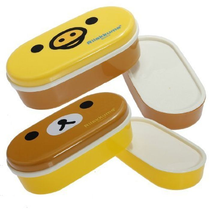 2 Tier Bento Lunch Box Case + Chopsticks Belt - Free Delivery