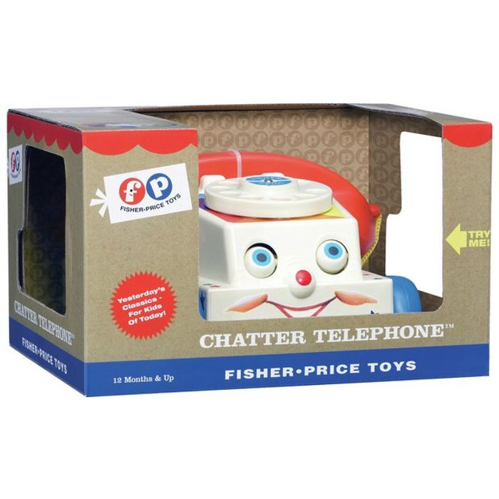 Fisher-Price Classics Chatter Telephone CLICK & COLLECT
