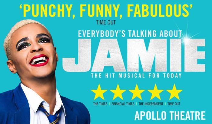 Everybody's Talking about Jamie London Theatre Show & West End Dining