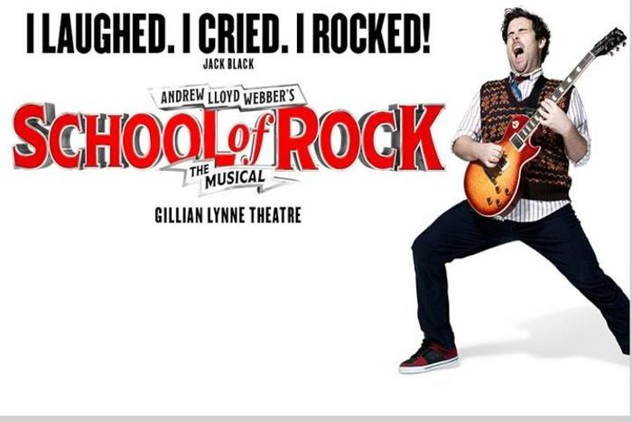 School of Rock the Musical London Theatre Show