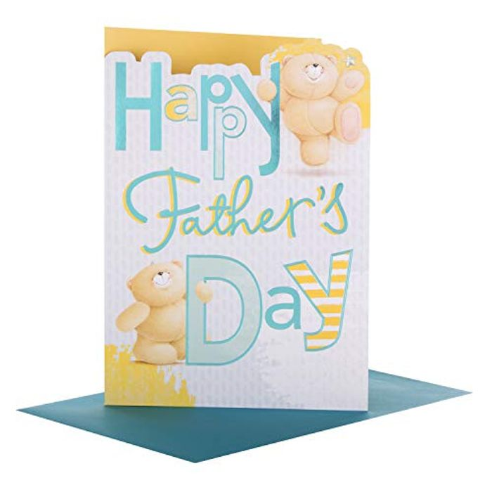 Hallmark Forever Friends Father's Day Card 'With Love' - Medium