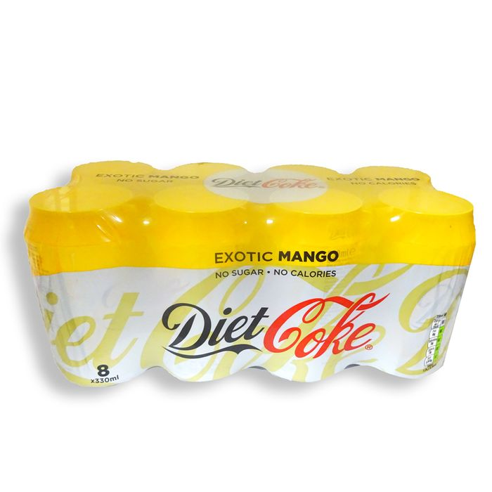 Coca Cola Diet Coke Mango 8 X 330ml