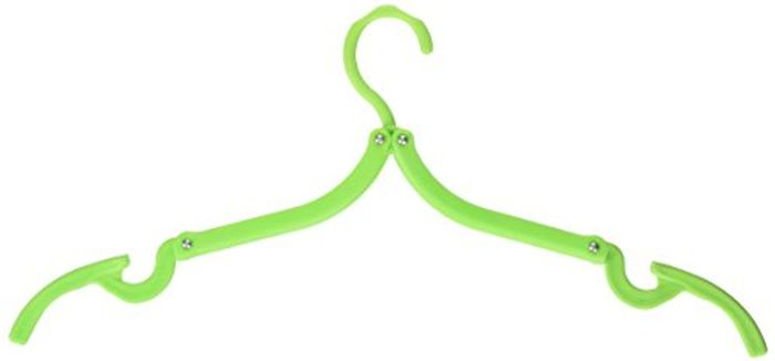 5Pcs Magic Portable Folding Plastic Clothing Coat Hanger FREE DELIVERY