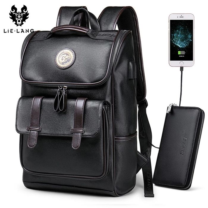Men's Waterproof Usb Charge Backpack (Free P&p!)