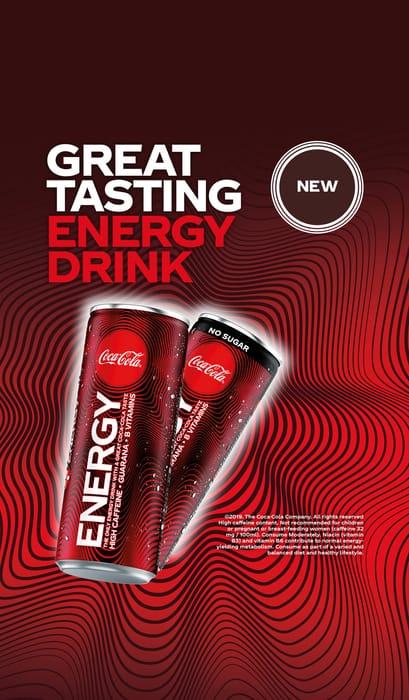Free Coca-Cola Energy via Shopmium