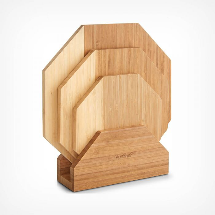 Set of 3 Serving Boards with Stand Only £12.99