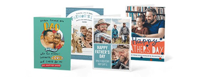 Free Father's Day Cards from Moonpig after Cashback - up to £15