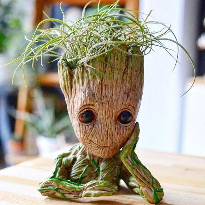 Great Value! Baby Groot Flower Pot Figurine at Amazon Only £3.58 Delivered