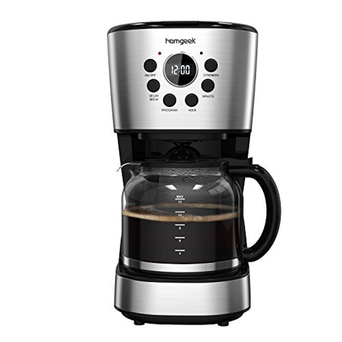12 Cup Filter Coffee Maker at Amazon - HALF PRICE