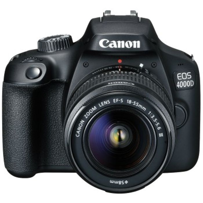 Canon EOS 4000D Kit with Built-in Wi-Fi & 18-55 III Lens Digital SLR Cameras
