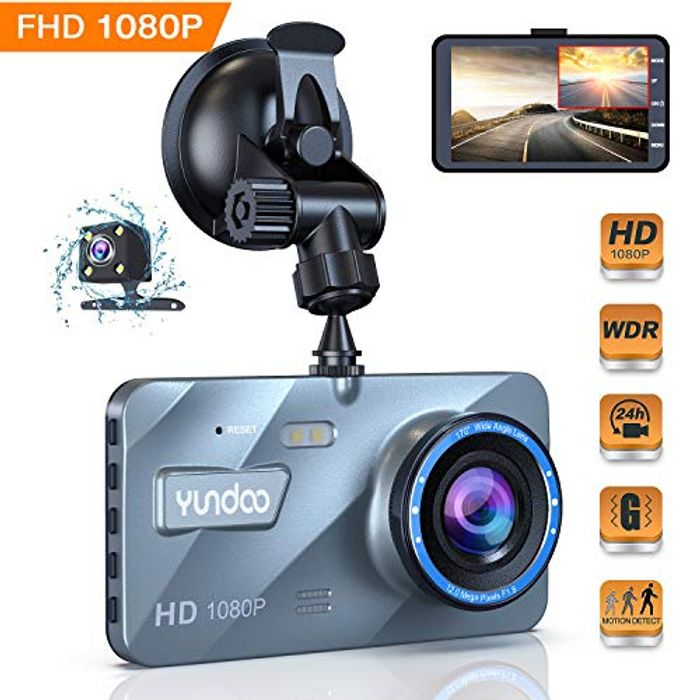Half Price - Car Dashcam 1080p at Amazon Only £26.99 Delivered