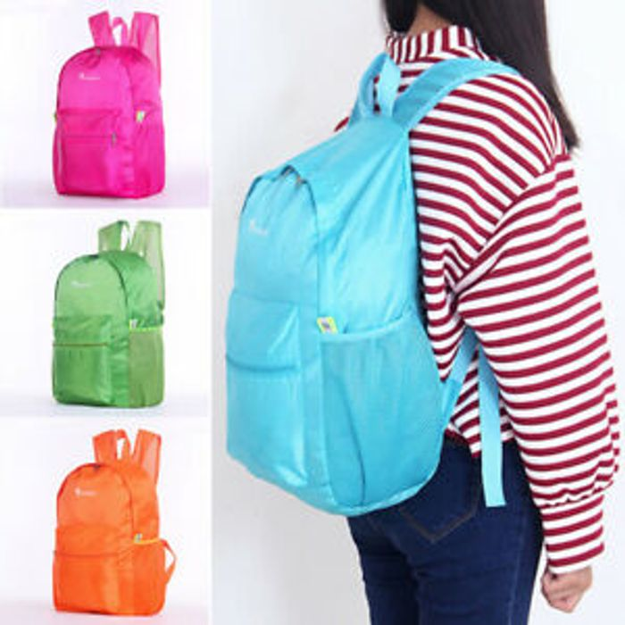 Waterproof Foldable Backpack - Free Delivery