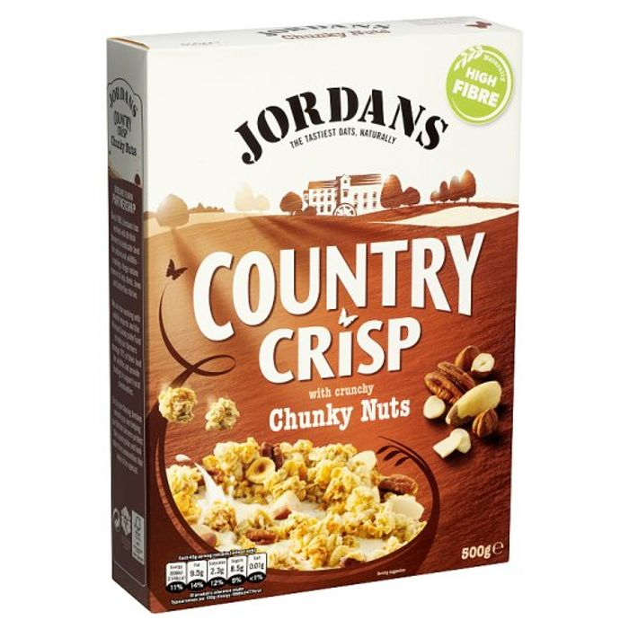 Jordans Country Crisp Chunky Nuts Cereal 500G