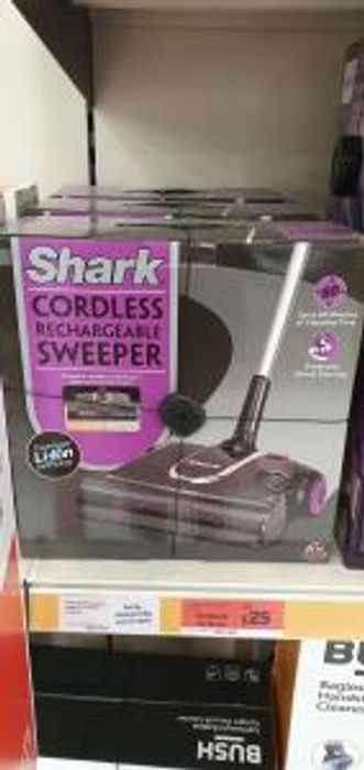 Shark Cordless Rechargeable Sweeper44%off Instore at Sainsbury's