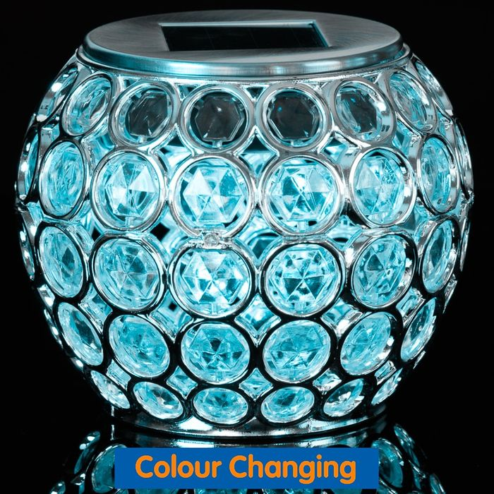 Dallas Solar Table Light - Colour Changing