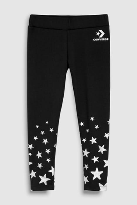 BACK in STOCK! Misprice? Converse Girls Black Star Leggings £4