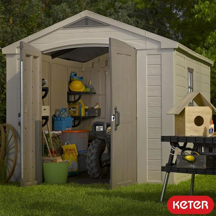 Keter Factor 8ft X 11ft (2.6 X 3.3m) Shed @Costco