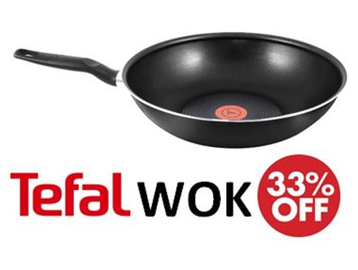 33% OFF, save £7.93. TEFAL Extra Stirfry Pan / WOK