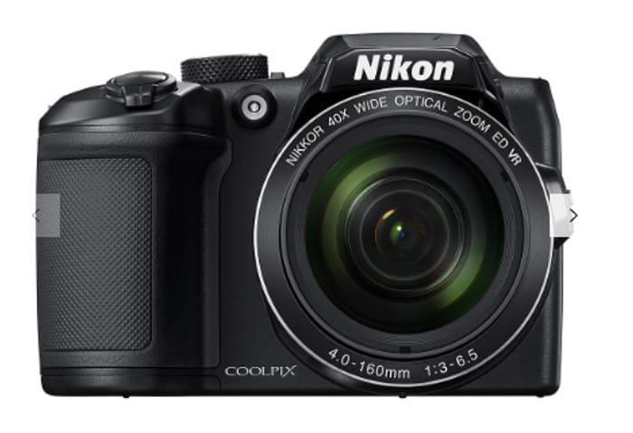 Nikon COOLPIX B500 Digital Camera, 16MP, HD 1080p, 40x Optical Zoom, Wi-Fi,