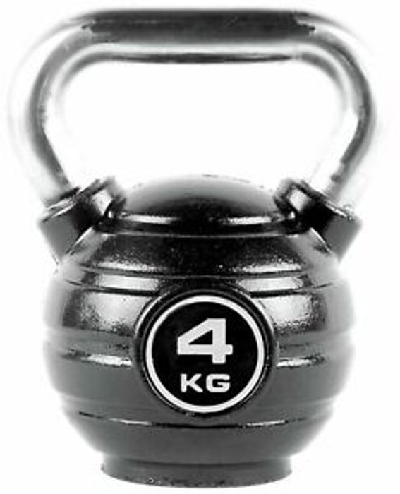 Pro Fitness 4KG Iron Kettlebell £3.99 Delivered
