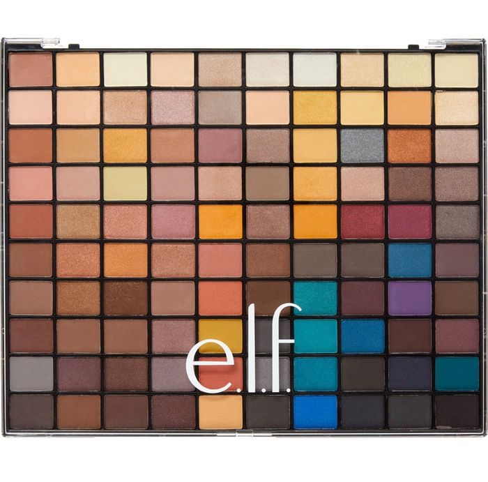 ELF 100 Colour Eye Shadow Palette 90g
