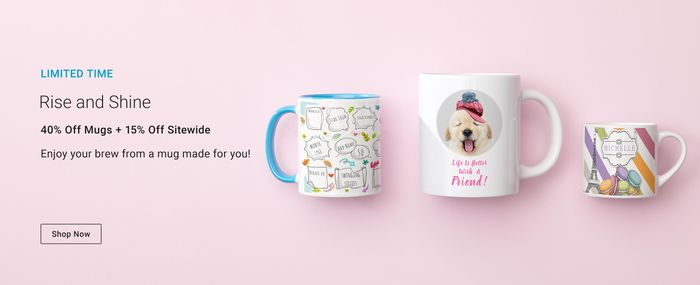 40% off Mug Orders at Zazzle.co.uk