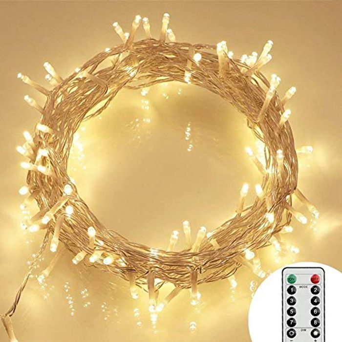 100 LED Outdoor Battery Fairy Lights