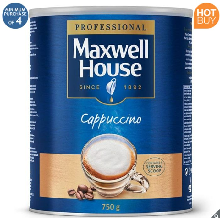 Maxwell House Instant Cappuccino, 750g