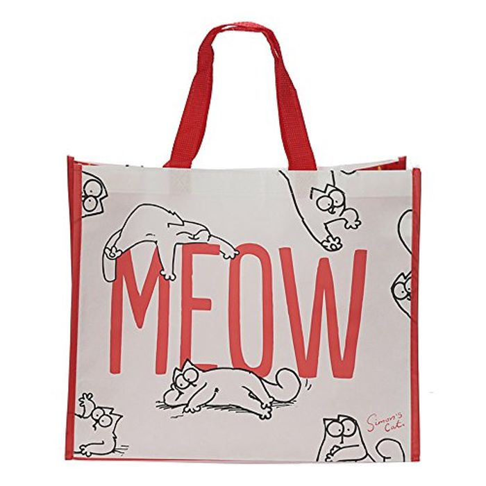 Simon's Cat 'MEOW' Shopping Bag FREE DELIVERY