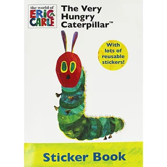 The Very Hungry Caterpillar Sticker Book SAVE 86%