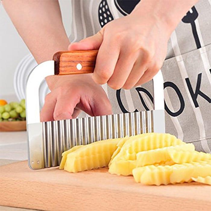 HANDY! Crinkle Cut Chip Slicer