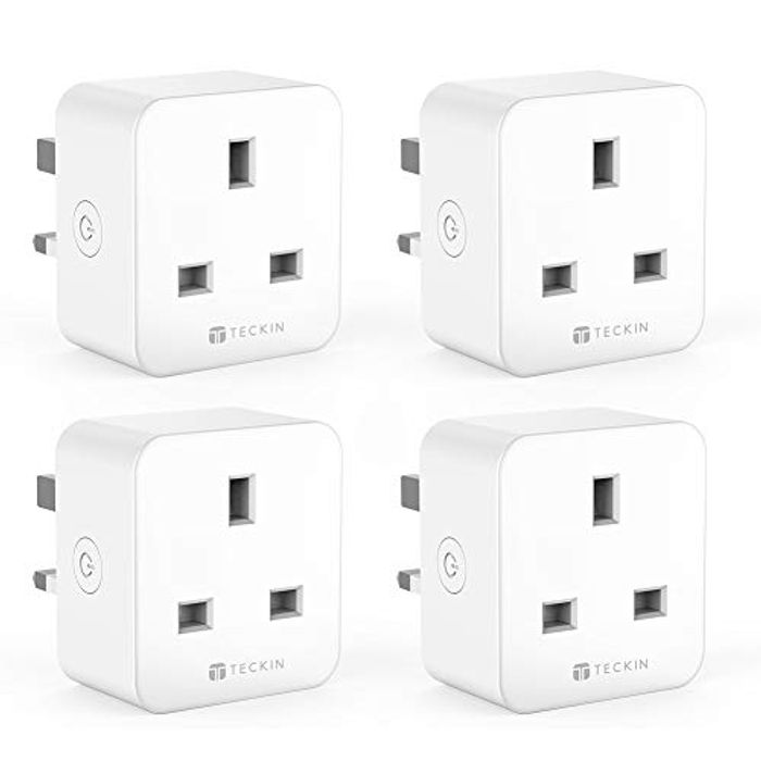 *DEAL STACK* 4 Pack 16A Smart WiFi Plug - Works with Alexa/Google