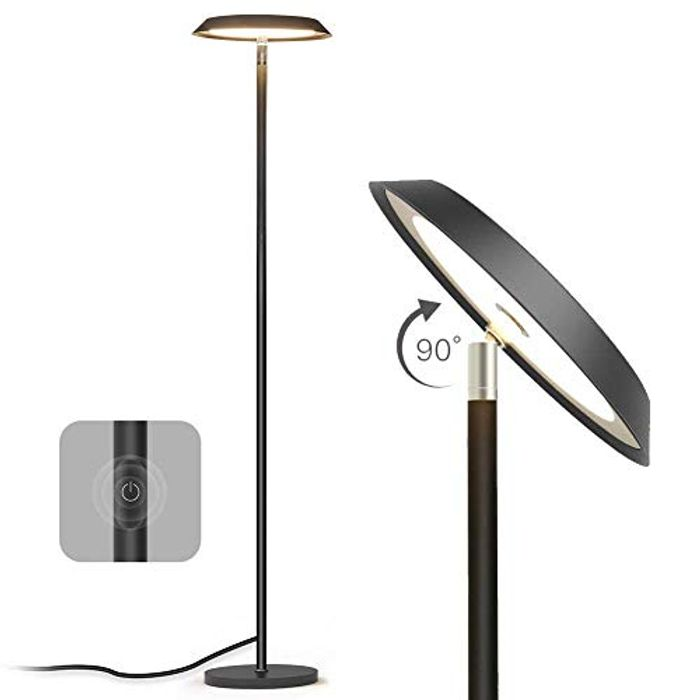 LED Dimmable Modern Industrial Standing Floor Lamp