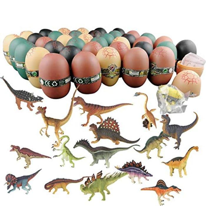 Xixini Dinosaur Model Toys Cute Early Education Assembling Toys for Boys Grils