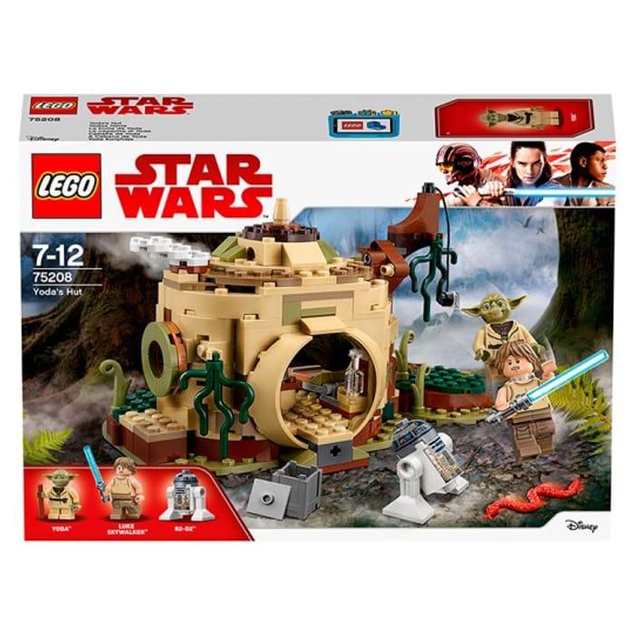 Lego Great Playset Yodas Home 75208